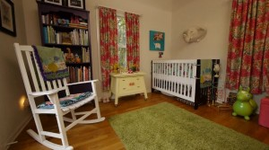 Child Style - Eclectic Nursery